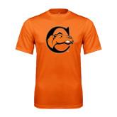Performance Orange Tee-C w/ Camel Head