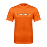 Performance Orange Tee-Campbell Flat