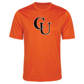 Performance Orange Heather Contender Tee-CU