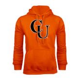 Orange Fleece Hoodie-CU