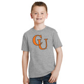 Youth Grey T-Shirt-CU