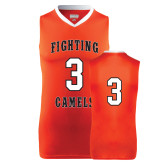 Replica Orange Adult Basketball Jersey-#3
