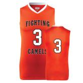 Replica Orange Adult Basketball Jersey-#3