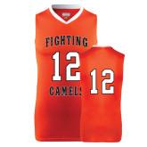 Replica Orange Adult Basketball Jersey-#12