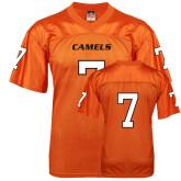 Replica Orange Adult Football Jersey-#7