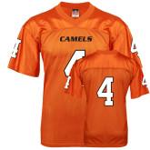 Replica Orange Adult Football Jersey-#4