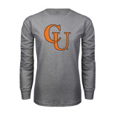 Grey Long Sleeve T Shirt-CU