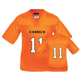 Youth Replica Orange Football Jersey-#11