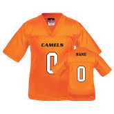 Youth Replica Orange Football Jersey-Personalized