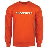 Orange Fleece Crew-Campbell Flat