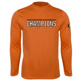 Performance Orange Longsleeve Shirt-2017 Southern Conference Wrestling