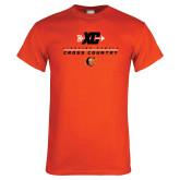 Orange T Shirt-Cross Country Design