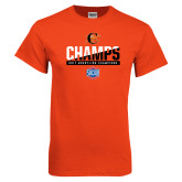 Orange T Shirt-2017 Southern Conference Wrestling