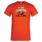 Orange T Shirt-2017 Big South Champions Mens Golf