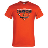 Orange T Shirt-2018 Baseball Champions