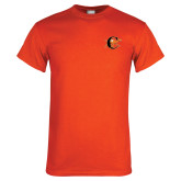 Orange T Shirt-Campbell Official Logo