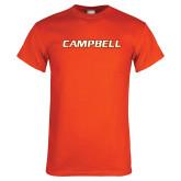 Orange T Shirt-Campbell Flat
