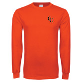 Orange Long Sleeve T Shirt-CU