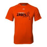 Under Armour Orange Tech Tee-Track and Field Runner Design