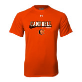 Under Armour Orange Tech Tee-Lacrosse Stick Design