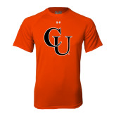 Under Armour Orange Tech Tee-CU