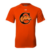 Under Armour Orange Tech Tee-C w/ Camel Head