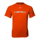 Under Armour Orange Tech Tee-Campbell Flat