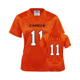Ladies Orange Replica Football Jersey-#11