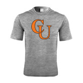 Performance Grey Heather Contender Tee-CU