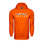 Under Armour Orange Performance Sweats Team Hoodie-Soccer Design