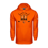 Under Armour Orange Performance Sweats Team Hoodie-Golf Crossed Sticks Designs