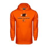 Under Armour Orange Performance Sweats Team Hoodie-Cross Country Design