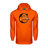 Under Armour Orange Performance Sweats Team Hoodie-C w/ Camel Head