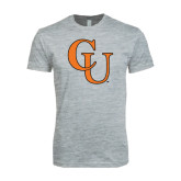 Next Level SoftStyle Heather Grey T Shirt-CU