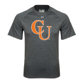 Under Armour Carbon Heather Tech Tee-CU