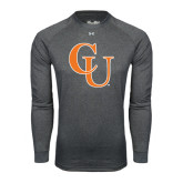 Under Armour Carbon Heather Long Sleeve Tech Tee-CU