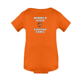Orange Infant Onesie-Mommys Little Fighting Camel