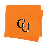 Orange Sweatshirt Blanket-CU