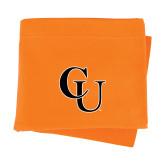 Orange Sweatshirt Blanket-CU