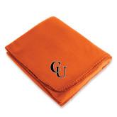 Orange Arctic Fleece Blanket-CU