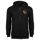 Black Fleece Full Zip Hoodie-CU