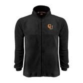 Fleece Full Zip Black Jacket-CU