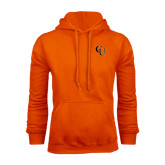 Orange Fleece Hoodie-CU