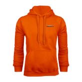 Orange Fleece Hoodie-Fighting Camel Club