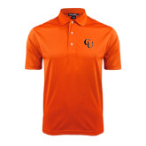 Orange Dry Mesh Polo-CU