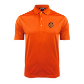 Orange Dry Mesh Polo-C w/ Camel Head