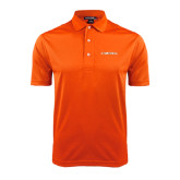 Orange Dry Mesh Polo-Campbell Flat