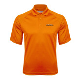 Orange Textured Saddle Shoulder Polo-Fighting Camel Club