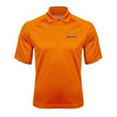 Orange Textured Saddle Shoulder Polo-Fighting Camel Club