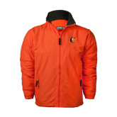 Orange Survivor Jacket-Campbell Official Logo